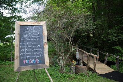 NC Mountain Wedding. July 2015. 230 guests. Photo by Andi Gelsthorpe